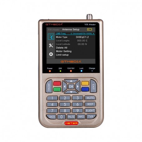 Localizador de satélite GTMedia con pantalla LCD