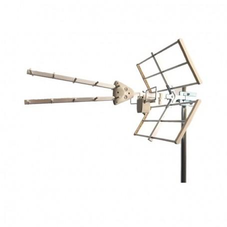 Antena UHF doble Novamax