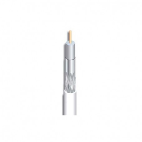 Cable coaxial cobre, 7mm, 18dB a 860Mhz/29.8dB a 2150