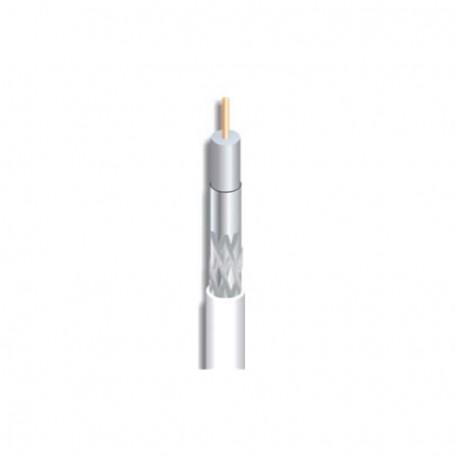 Cable coaxial cobre, 7mm, 18dB a 860Mhz/29.8dB a 2150