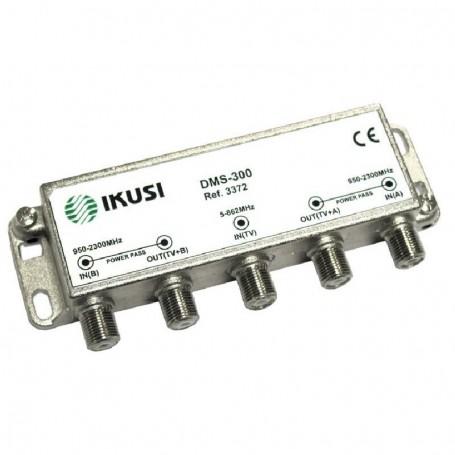Mezclador 2 entradas FI + 1 entrada terrestre (para ICT)