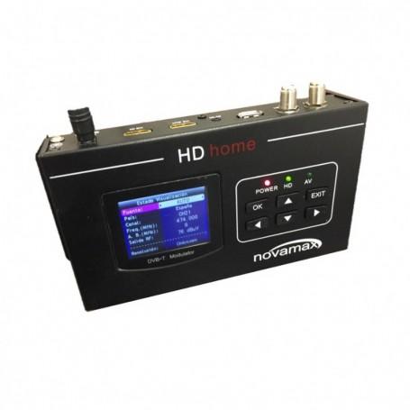 Modulador UHF/VHF 85dB con entrada y salida RF